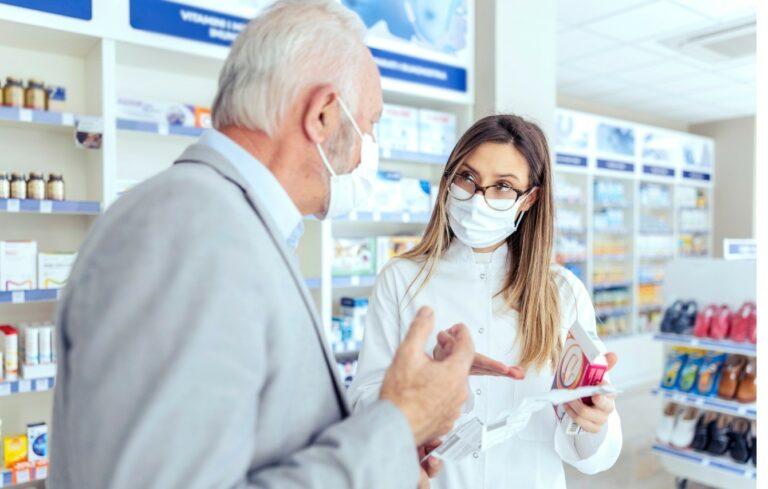 Captação do cliente na farmácia